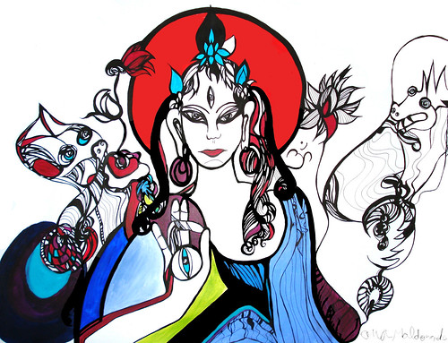 Beautiful Illustrations by Ana Maldonado