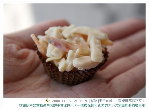 試吃東港櫻花蝦巧克力 (11)