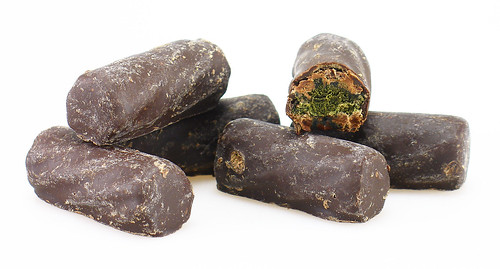 Dark Chocolate Covered Black Licorice