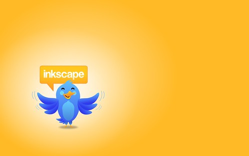 Twitter Style Bird Mascot by Andrew Abogado.