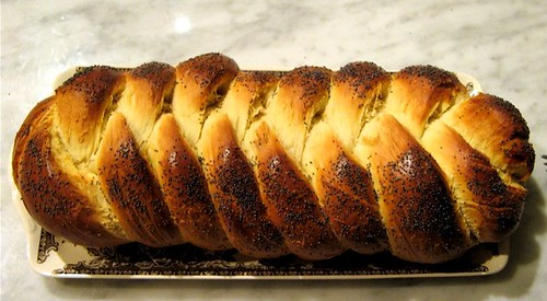 whole challah loaf
