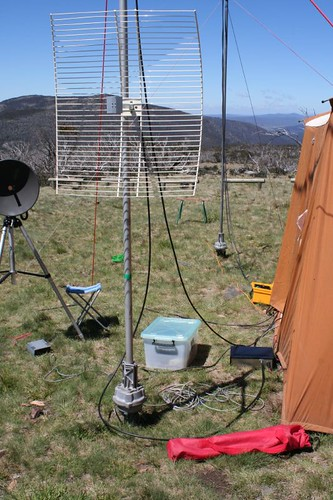 """VHF, UHF and Microwave bands at Mt Ginini • <a style=""""font-size:0.8em;"""" href=""""http://www.flickr.com/photos/10945956@N02/3047915277/"""" target=""""_blank"""">View on Flickr</a>"""