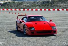 Ferrari F40 (Martijn Kapper) Tags: sony ferrari exotic alpha circuit zandvoort supercar martijn ferrariclub a100 f40 kapper