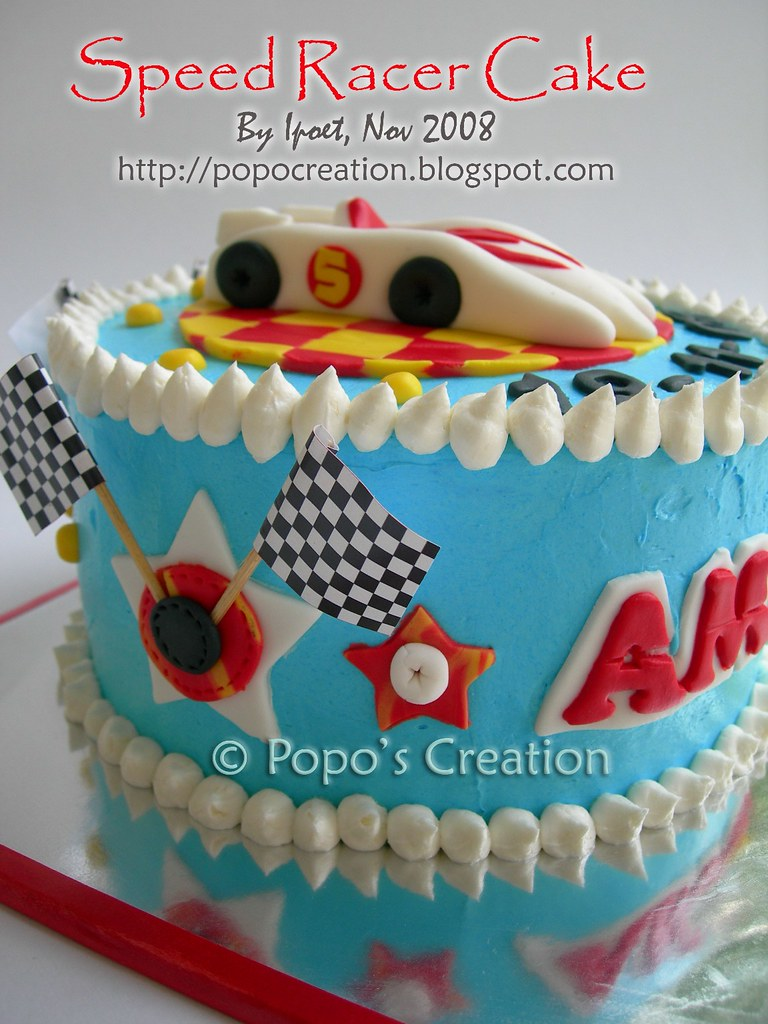 Speed Racer Cake