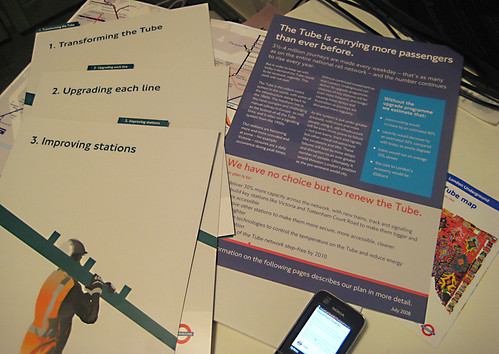 Transforming the Tube Briefing pack