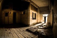 Living forgotten (Khalid AlHaqqan) Tags: shadow abandoned ex canon dc scary sigma fisheye kuwait khalid soe f28 hdr 10mm herror hsm 40d kuwson platinumphoto alhaqqan theperfectphotographer goldstaraward sigma10mmf28exdchsmfisheye khalidalhaqqan