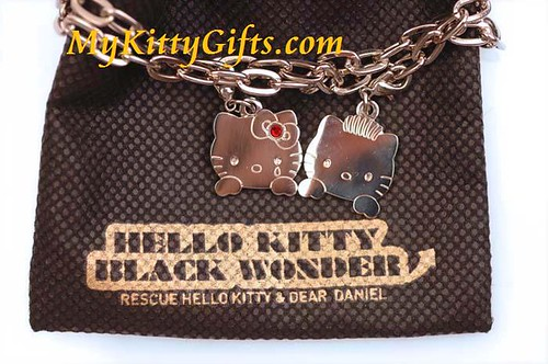 Hello Kitty Gifts, Hello Kitty Special Edition Black Wonder Bracelet with Special Theme Bag