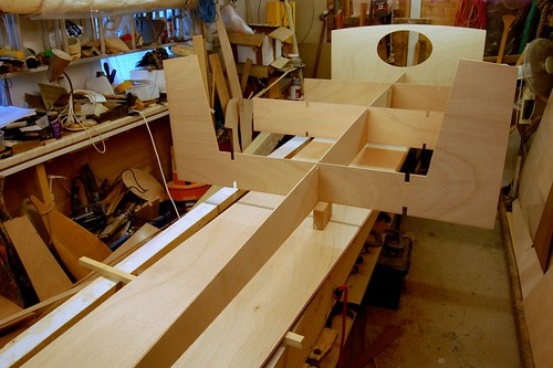 First build of the RAID41 Expedition Cruising Dinghy