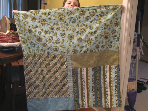 Lap quilt for Mom & Dad