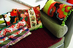[ pillows ] ( Atelier Encantado ) Tags: house home vintage casa handmade decoration decorao almofada cushions handcraft fabrics tecidos trims atelierencantado
