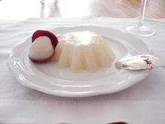 gelatina de lichia