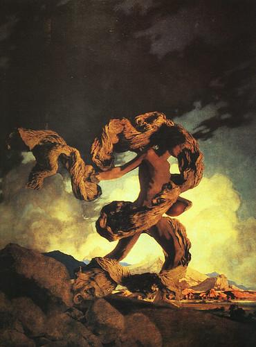 014-Cadmus la Siembra del Dragón 1908 óleo sobre lienzo Fuente-CGFA