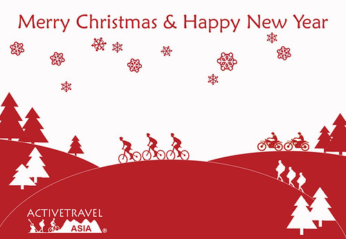 Merry Christmas with ActiveTravel Asia by active travel vietnam.