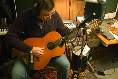 Recording classical guitar - 6 at Flickr.com