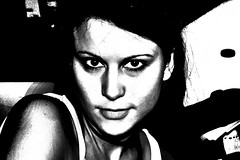 Portrait B&W work (Martin.Matyas) Tags: portrait bw face canon canonef50mmf18 sw eos400d
