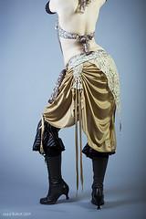 Crowley Couture (exoskeletoncabaret) Tags: studio handmade lace stripes tribal bellydance fusion fluevog vintagepunk kathleencrowley mollymitchell libbybulloff deshret sampants