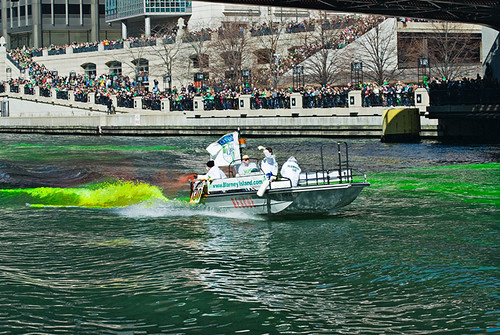 The Greening of the Chicago River 47