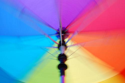 128:365 Spinning brelly