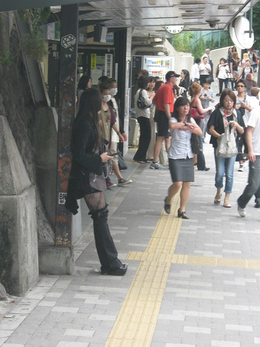 The most extreme fashion we saw at Harajuku. I assume it gets better on Sundays when school and work are out.