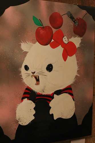 Hello Kitty Art Show. Hello Kitty Art Show - Hello