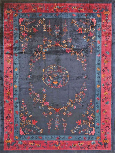 Antique Chinese Oriental Rug #43749 by Nazmiyal Collection