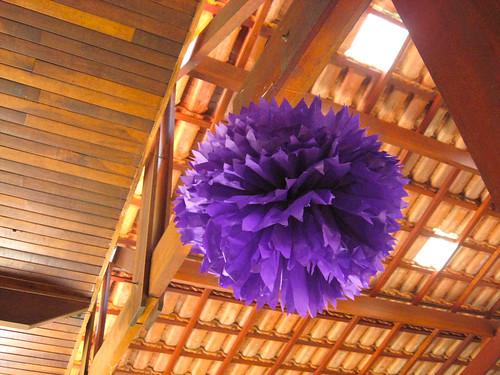 pompom decoração de festa 490