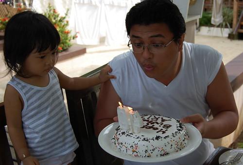 h's bday cake