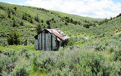 Cabin_AdamWeiss (johne_40) Tags: mountains cabin wyoming ranching absarokafront