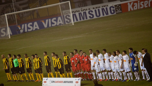 Copa Libertadores de America 2011   Santos  - Peñarol    110623-7589-jikatu