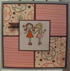 Girly greetingcard