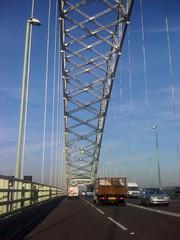 Runcorn Bridge (IamJomo) Tags: cameraphone uk apple mobile moblog phone cellphone cell att iphone runcorn runcornbridge 20megapixel takenwithaniphone swpmoblog