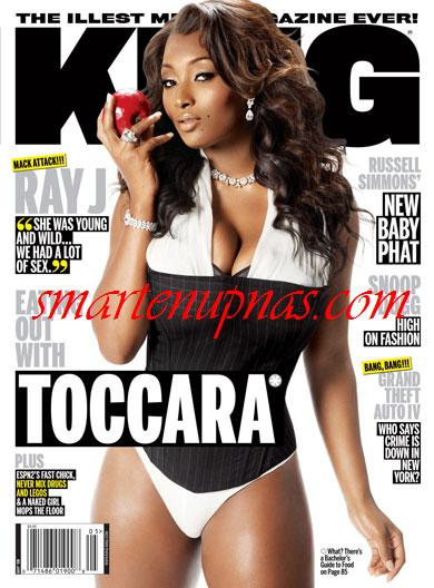 tocara king magazine cover