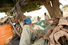 Meet The Janjaweed-09.jpg (Andrew Carter) Tags: sleeping fighter sleep sudan arab snooze conflict rest militia darfur machinegun janjaweed unreportedworld