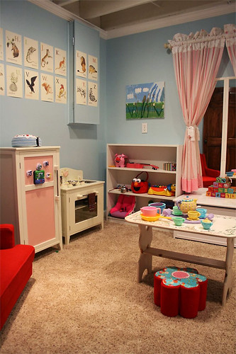 playroom, left side.