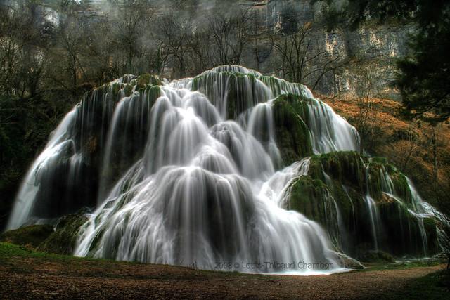 Cascade des Tufs - Baume les Messieurs - Jura - France