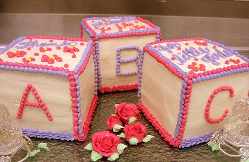 baby shower block cakes 0081