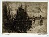 1914 Alfonse Blomme, Scheepjes (blacque_jacques) Tags: etching eauforte aquafortis