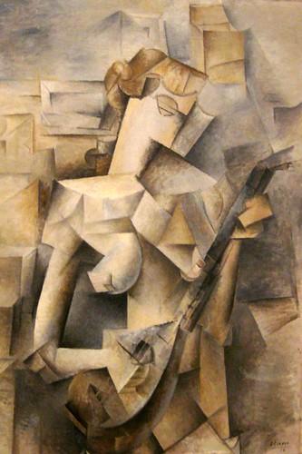 picasso cubism portrait. Cubist painting is unique in