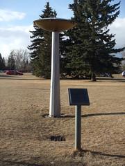 Calgary olympic torch