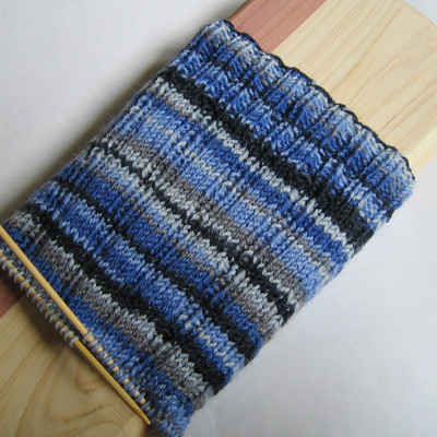 Oak Ribbed Sock Cuff