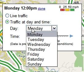 Predict traffic