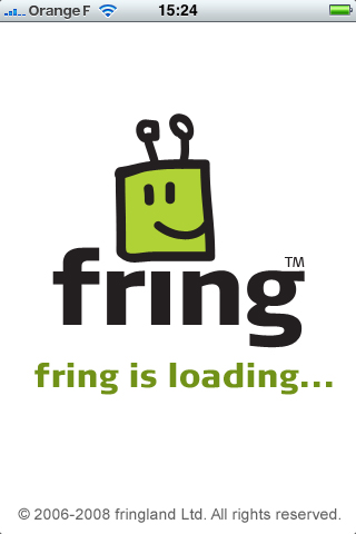 Fring sur iPhone