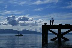 thoughts of a quiet life (Liam Levitz) Tags: sea summer sun landscape boats scotland clyde fishing sensational arran portencross forthofclyde damniwishidtakenthat dragondaggerphoto