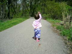 Walking at Fenner Nature Center