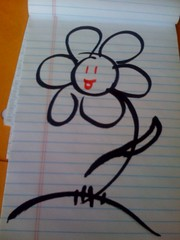THE BEST FLOWERE EVER DRAWN