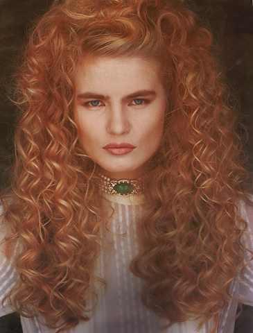 Phenomenal Eighties Hairstyles Brown Highlights Hairstyles For Women Draintrainus