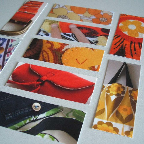 my first ever set of moo cards