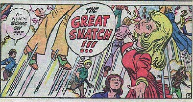 The Great Snatch, as depicted by Spire Comics