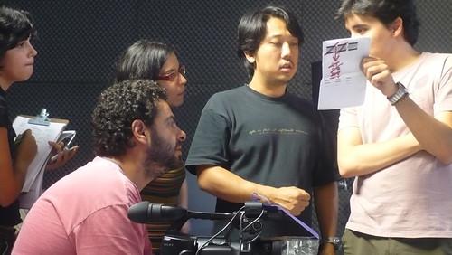 Disca, Thaizinha (preparadora de elenco), Kakazu e eu