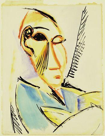 Cabeza de estudiante de medicina, de Picasso